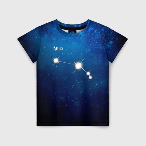 Детская футболка 3D Овен