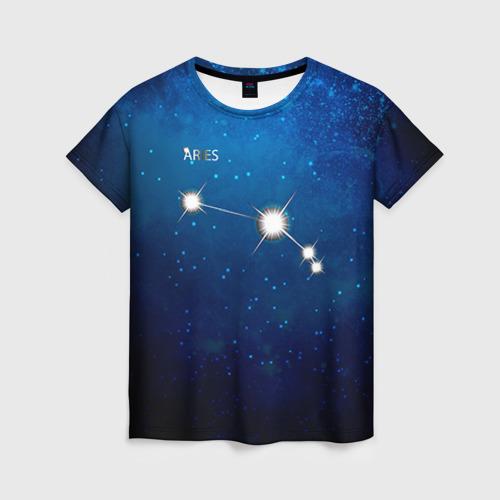 Женская футболка 3D Овен