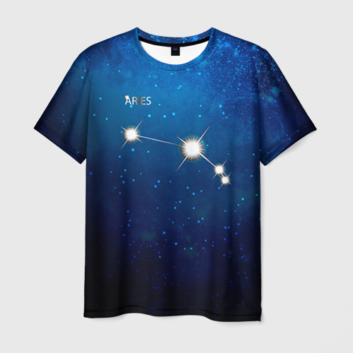 Мужская футболка 3D Овен