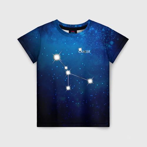 Детская футболка 3D Рак