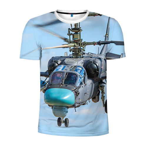 Мужская футболка 3D спортивная КА 52