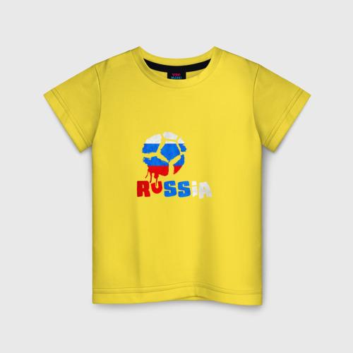 Детская футболка хлопок Россия
