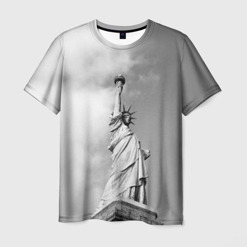 Мужская футболка 3D Статуя Свободы