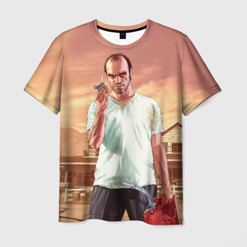 Мужская футболка 3D Тревор
