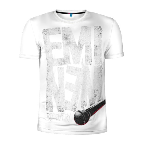 Мужская футболка 3D спортивная Eminem
