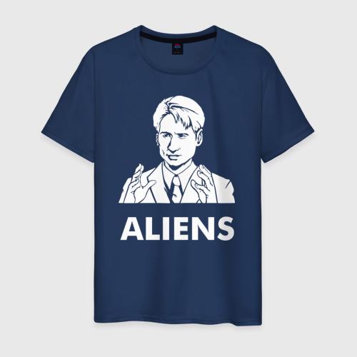 Мужская футболка хлопок Aliens