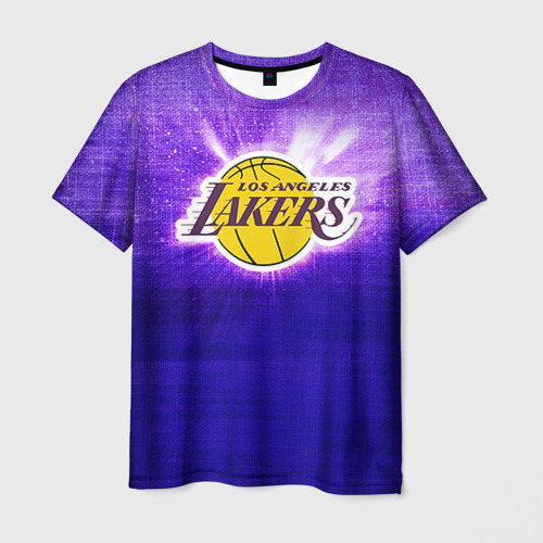 Мужская футболка 3D Los Angeles Lakers
