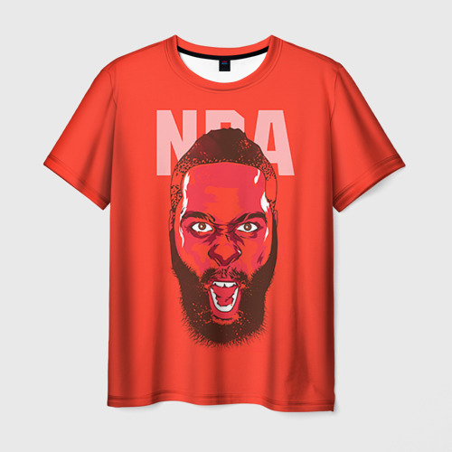 Мужская футболка 3D NBA