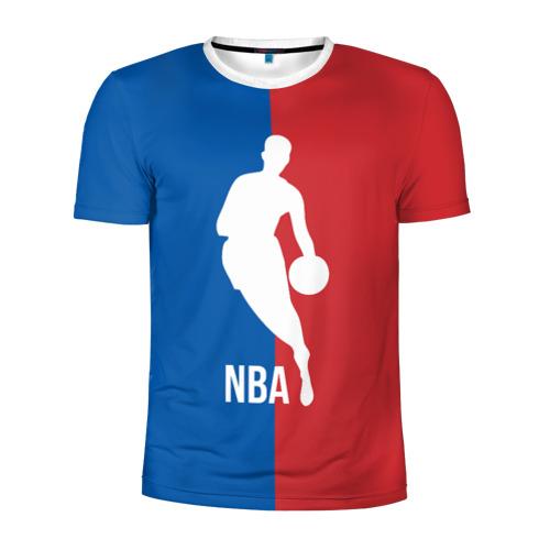 Мужская футболка 3D спортивная Эмблема NBA