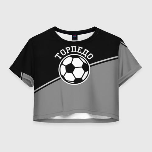 Женская футболка Crop-top 3D Торпедо