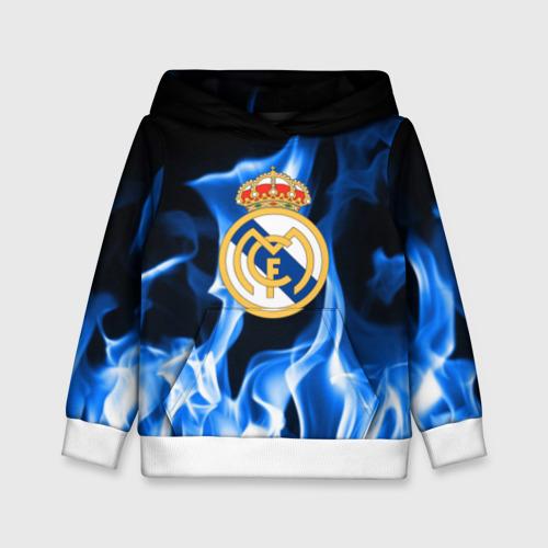 Детская толстовка 3D Real Madrid