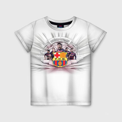 Детская футболка 3D Барселона 1
