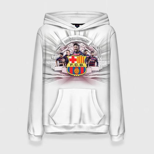 Женская толстовка 3D Барселона 1