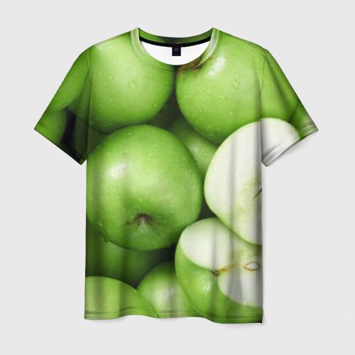 Мужская футболка 3D Яблочная