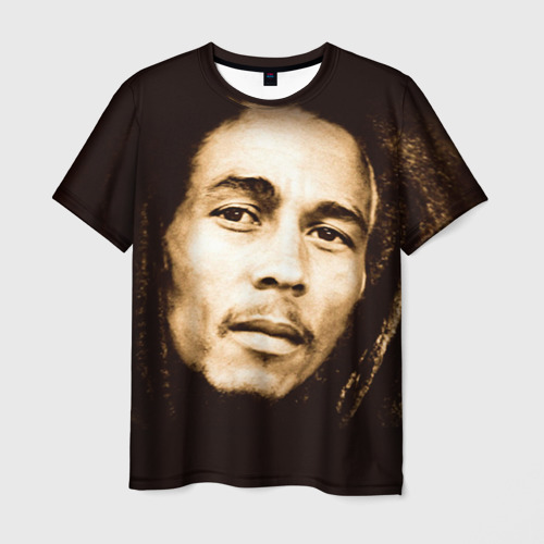 Мужская футболка 3D Боб Марли 3