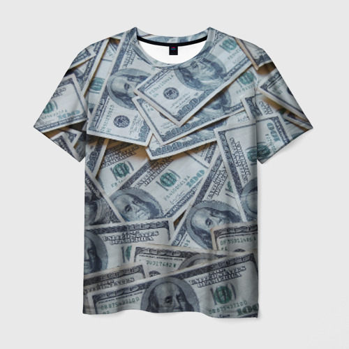 Мужская футболка 3D Money