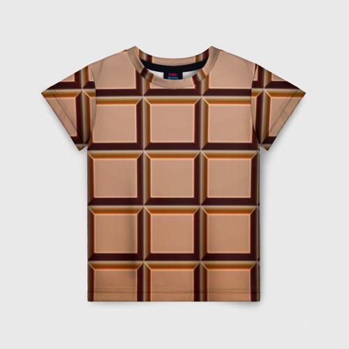 Детская футболка 3D Шоколад
