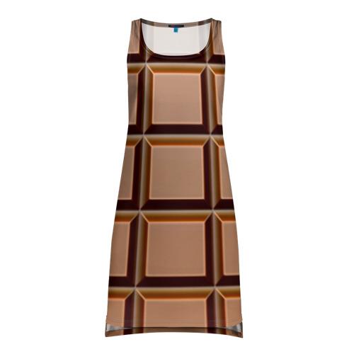 Платье-майка 3D Шоколад