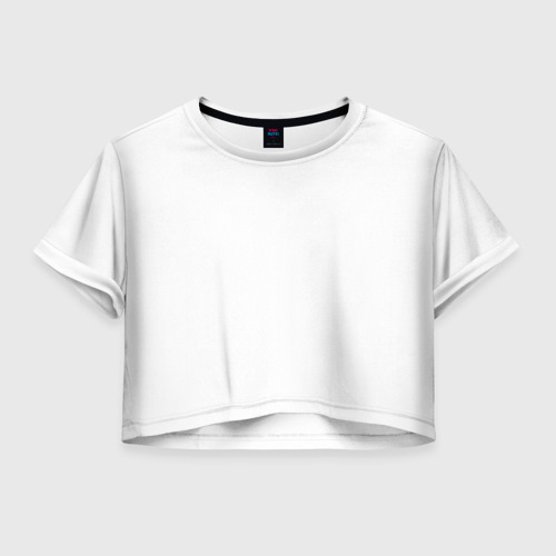 Женская футболка Crop-top 3D No Honda no sex