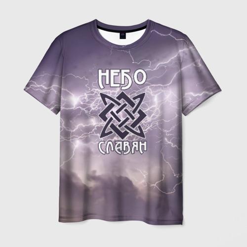 Мужская футболка 3D Небо славян