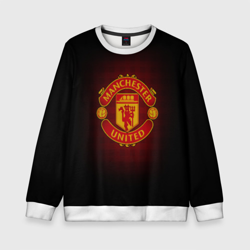 Детский свитшот 3D Манчестер Юнайтед