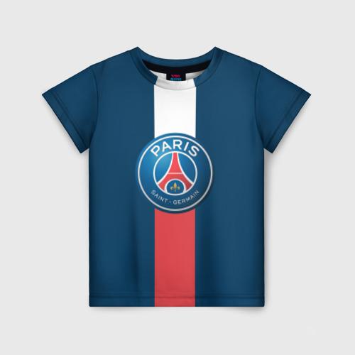 Детская футболка 3D ПСЖ