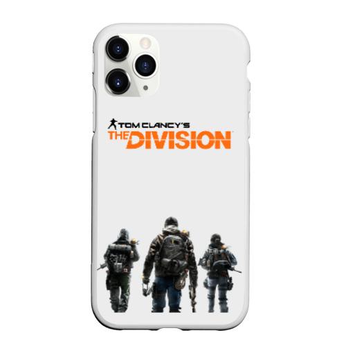 Чехол для iPhone 11 Pro Max матовый Tom Clancy's The Division