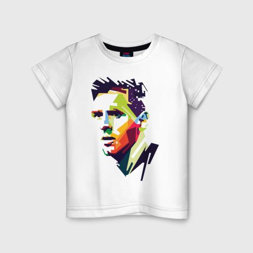 Детская футболка хлопок Леонель Месси