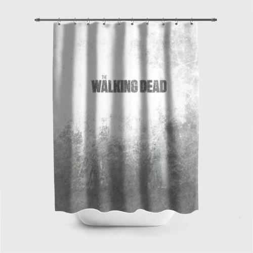 Штора 3D для ванной The Walking Dead
