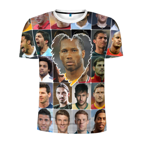 Мужская футболка 3D спортивная Дидье Дрогба - лучший