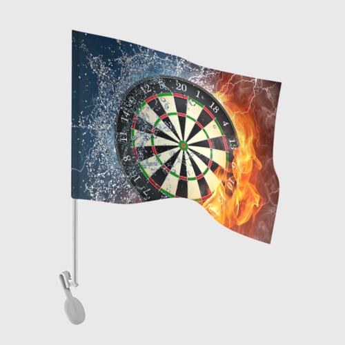Флаг для автомобиля Мишень для Дартс