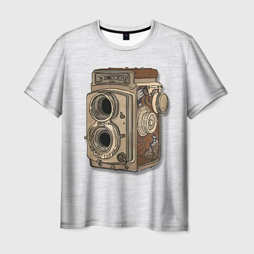 Мужская футболка 3D Фотоаппарат