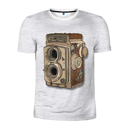 Мужская футболка 3D спортивная Фотоаппарат