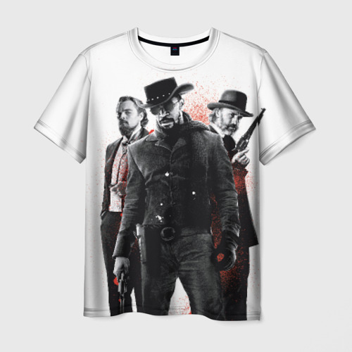 Мужская футболка 3D Джанго