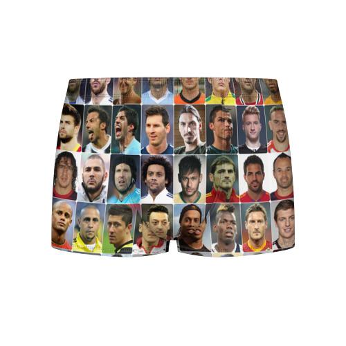 Мужские трусы 3D Лучшие футболисты