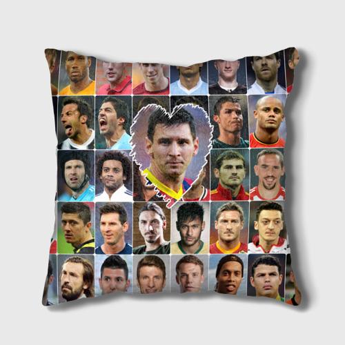 Подушка 3D Лионель Месси - лучший
