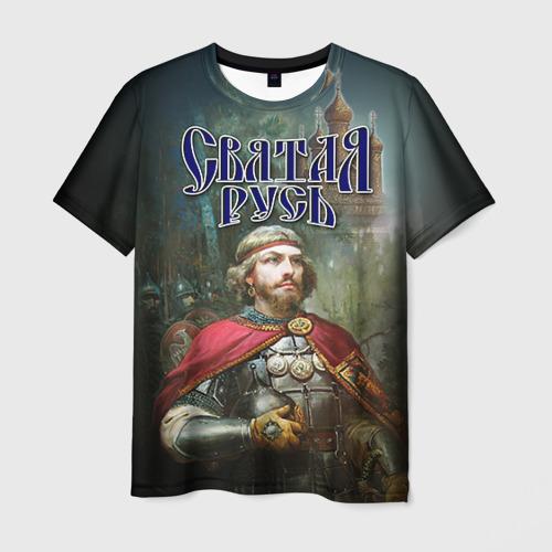 Мужская футболка 3D Святая Русь