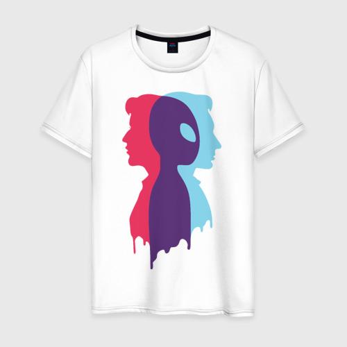 Мужская футболка хлопок INTERSECTION