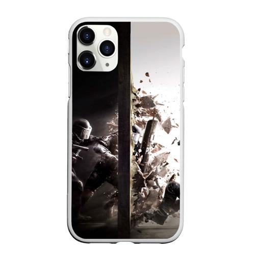 Чехол для iPhone 11 Pro Max матовый SWAT