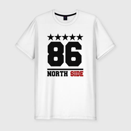 Мужская футболка хлопок Slim 86 north side