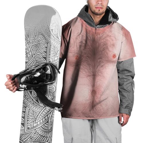 Накидка на куртку 3D Загорелый торс