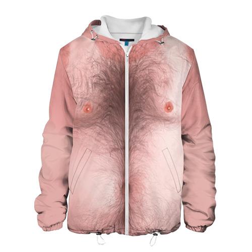 Мужская куртка 3D Загорелый торс