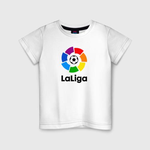 Детская футболка хлопок Чемпионат Испании