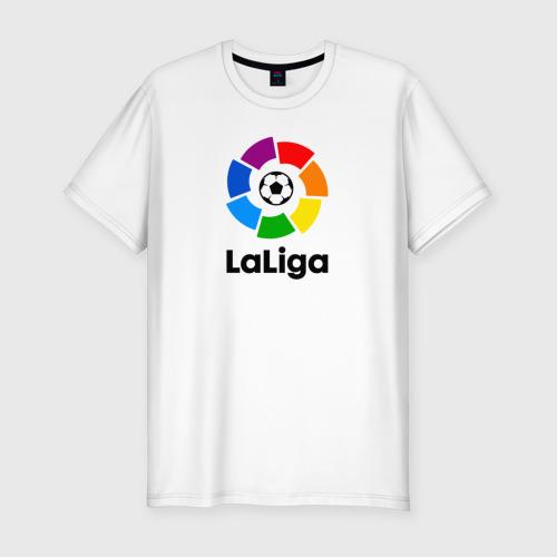 Мужская футболка хлопок Slim Чемпионат Испании