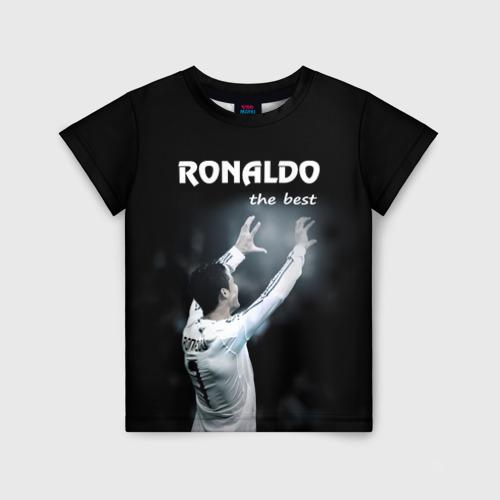 Детская футболка 3D RONALDO the best