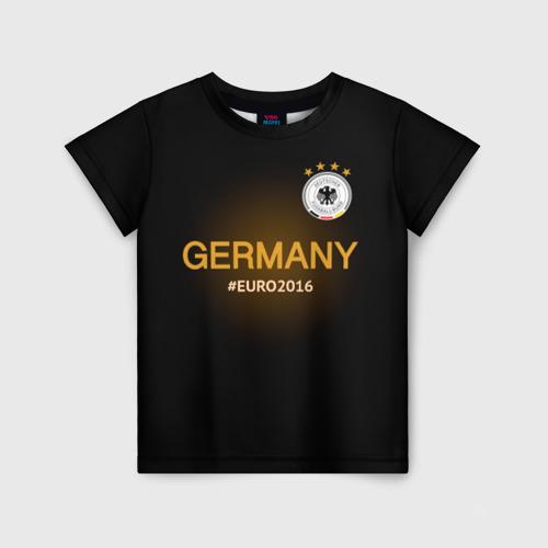 Детская футболка 3D Сборная Германии 2016