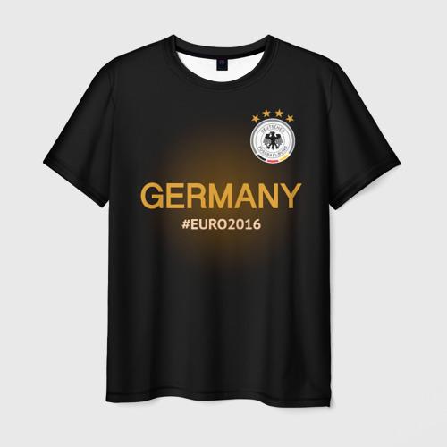 Мужская футболка 3D Сборная Германии 2016