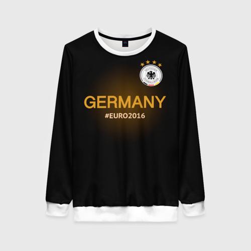 Женский свитшот 3D Сборная Германии 2016