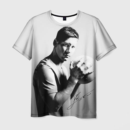 Мужская футболка 3D Лионель Месси