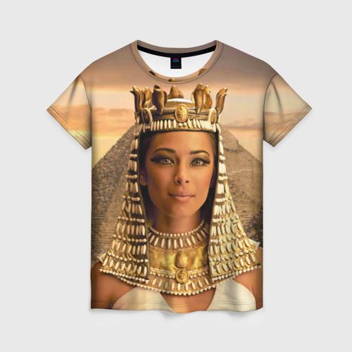 Женская футболка 3D Клеопатра